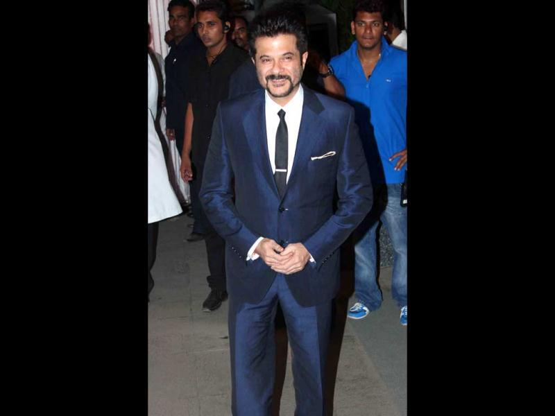 Anil Kapoor was also spotted at the reception.