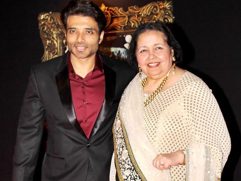 Uday Chopra with his mother Pamela. (Photo/Yogen Shah)