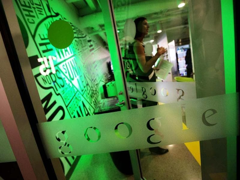 The entrance to the kitchen is seen at the new Google office in Toronto, November 13, 2012. Reuters/Mark Blinch