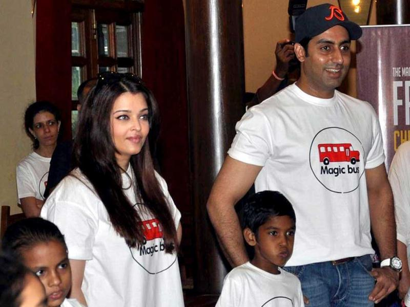 Mommy-daddy surely did Aaradhya proud!