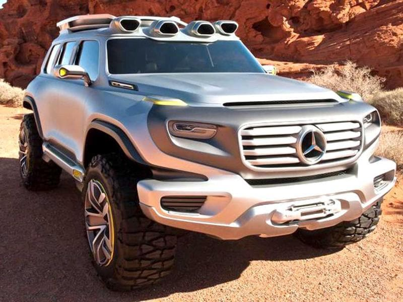 Mercedes' Ener-G-Force concept hints at a future Land Rover-rivalling SUV line-up.