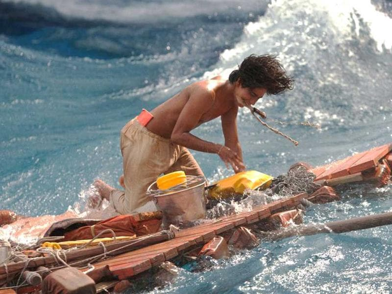 Despite being a Hollywood film, Life of Pi's cast is predominantly Indian, includings stars like Irrfan Khan and Tabu.