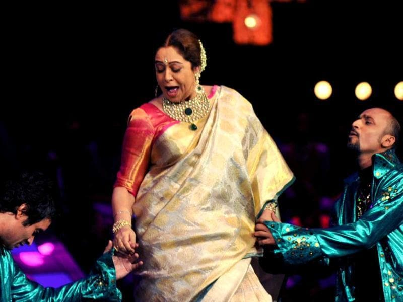 Kirron Kher shakes a leg at India's Got Talent.