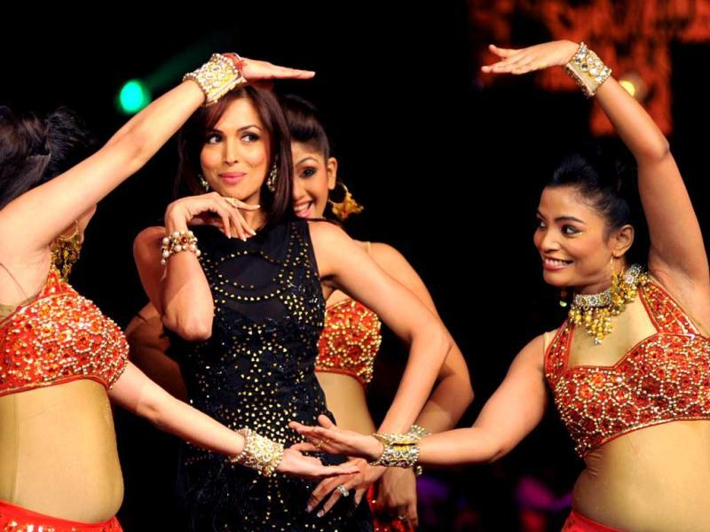Malaika Arora Khan performs a dance routine.