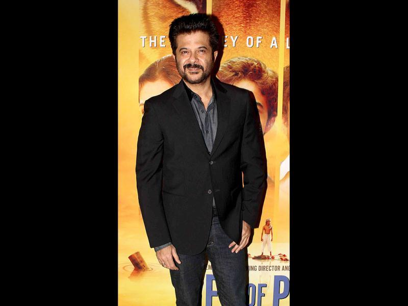 Actor Anil Kapoor, too, was present at the premiere of Life of Pi.