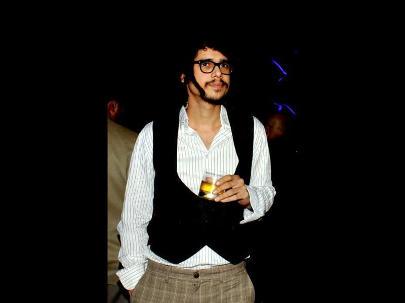 Bollywood actor and musician Imaad Shah poses as he attends Chivas Studio 2012 event in Mumbai on November 23. (AFP Photo)