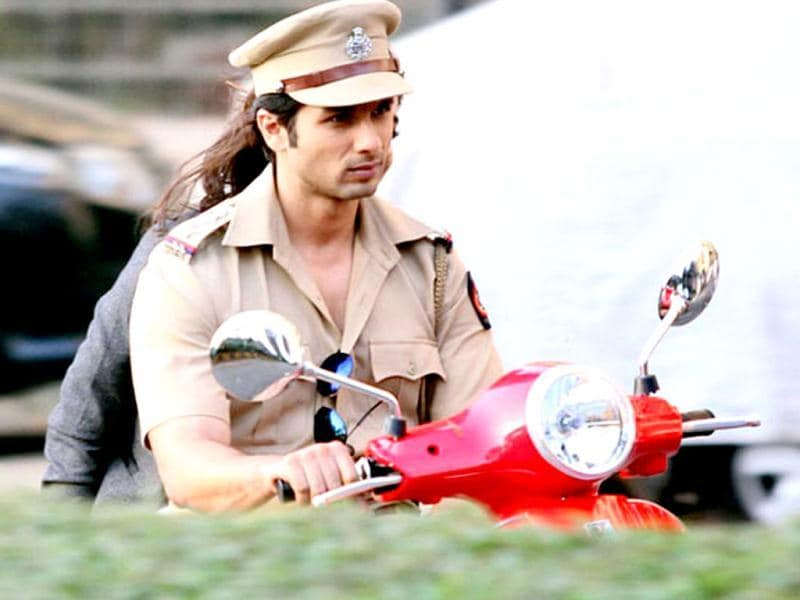 Shahid, for the first time ever, will be seen in a police uniform.