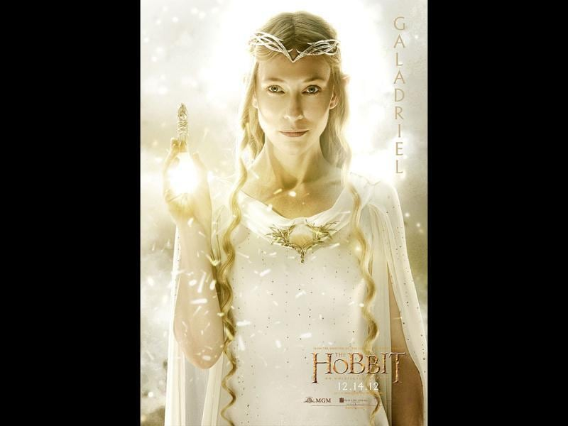 The Hobbit will once again see Cate Blanchett playing the Great Elven woman Galadriel.