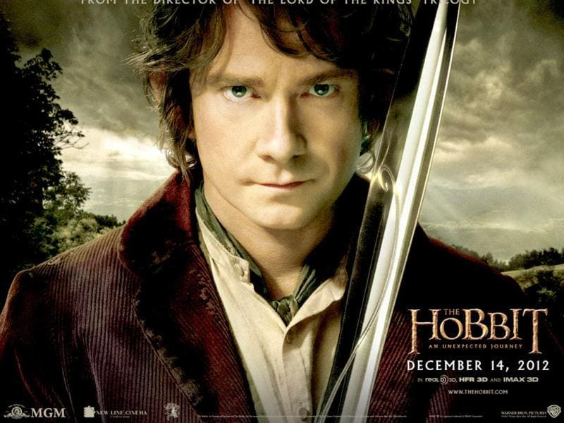 The Hobbit is a prequel to the Lord Of The Rings series and it's about the escapades of Frodo's uncle Bilbo Baggins.