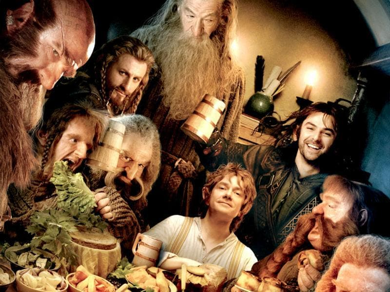 Bilbo Baggins (played Martin Freeman) journeys to the Lonely Mountain with a vigorous group of Dwarves to reclaim a treasure stolen from them by the dragon Smaug.