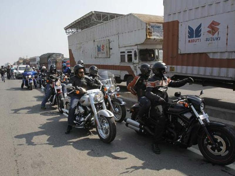Motorcycle carnival Goa bound