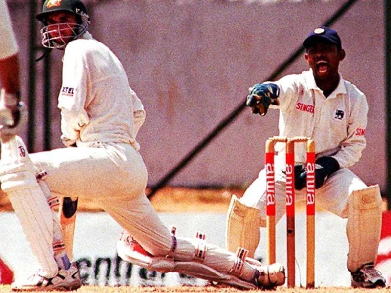 Ponting has played 167 Test matches and has won 48 out of the 77 that he captained. In this file photo, Sri Lankan wicket-keeper Romesh Kaluwitharana appeals for a leg-before wicket decision against Ponting in Kandy in 1999. (AFP Photo)