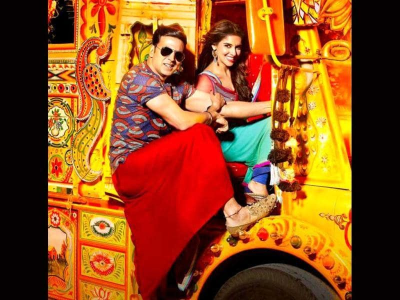 Akshay Kumar takes his Khiladi fanchise forward with Khiladi 786, also starring Asin Thottumkal.