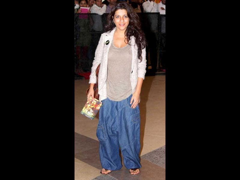 Zoya Akhtar looks quite a casual chic. (Photo/Yogen Shah)