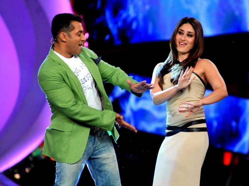 Salman-Kareena were seen shaking a leg to the tunes of Fevicol Se on Bigg Boss.