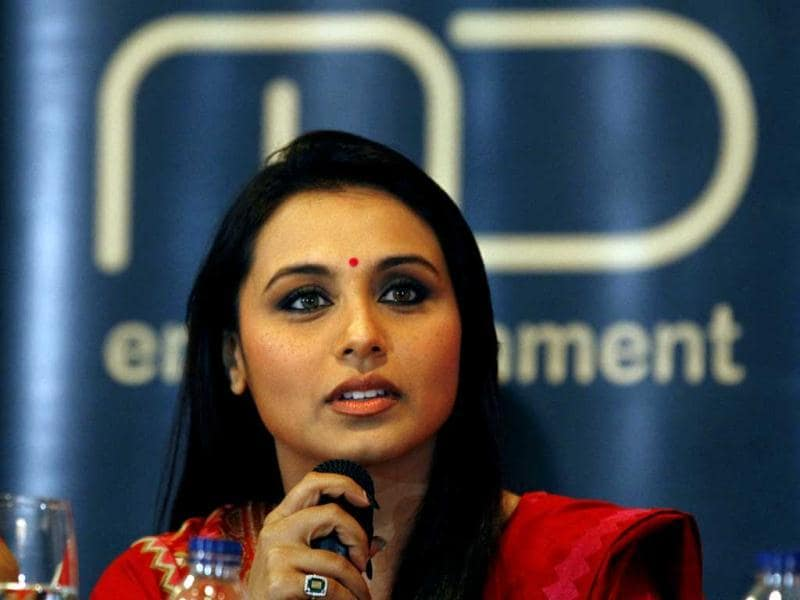 Bong Beauty: Rani Mukerji at the press conference of Temptation Reloaded concert in Jakarta, Indonesia.