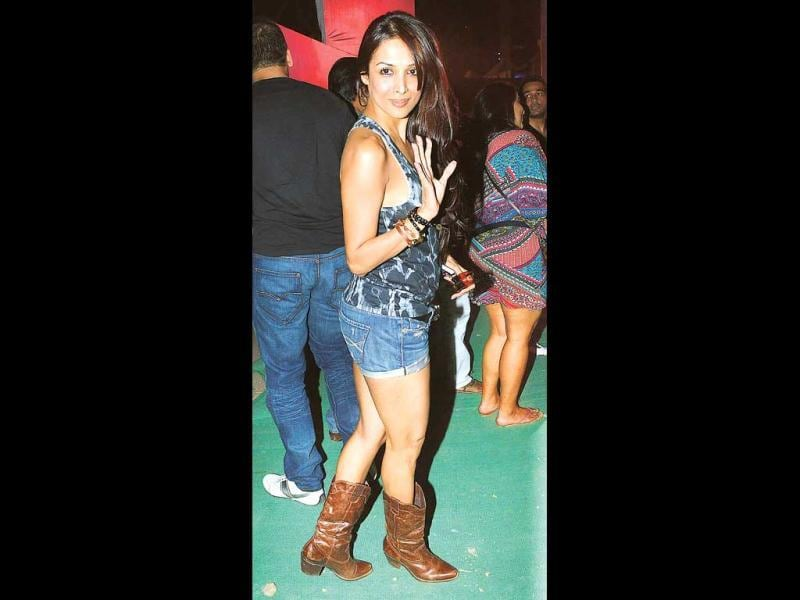 Malaika Arora Khan, who looked like a rockstar herself at the concert, said,