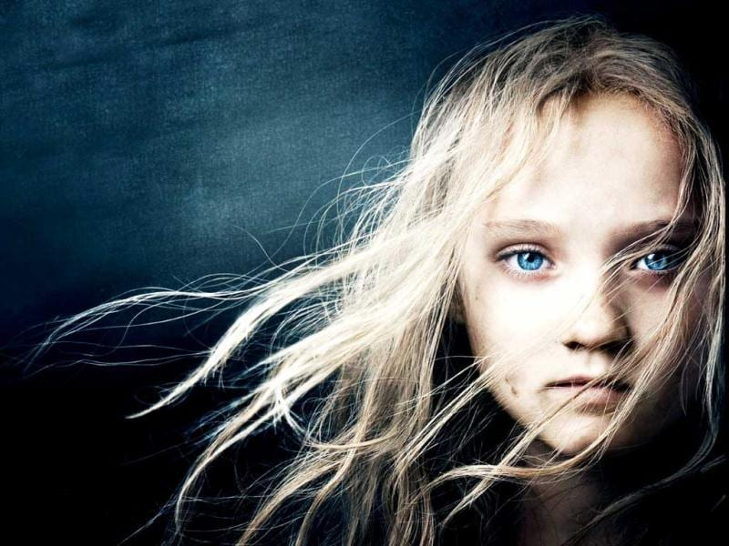 10-year-old Isabelle Allen plays the younger version of Cosette in Les Miserables