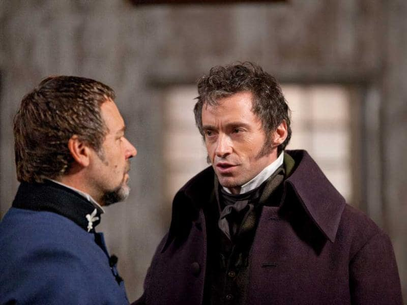 In 19th-century France, Jean Valjean, who for decades has been hunted by the ruthless policeman Javert after he breaks parole, agrees to care of factory worker Fantine's illegitimate daughter, Cosette. The fateful decision changes their lives forever.