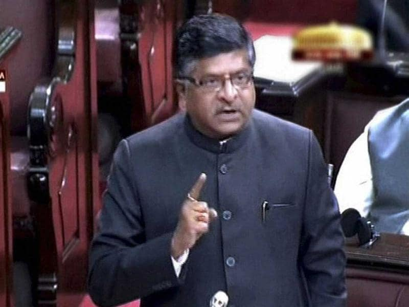 BJP leader Ravi Shankar Prasad raised the issue of Walmart lobbying in the Parliament demanding a probe into the matter.
