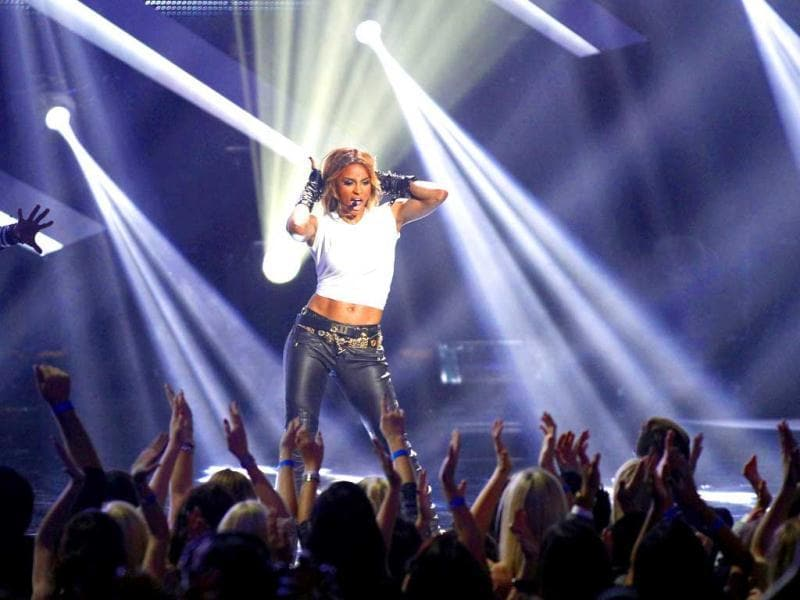 Recording artist Ciara performs during a tribute to Michael Jackson at the VH1 Divas 2012 show in Los Angeles. Reuters photo