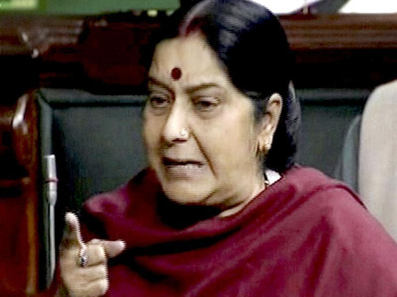 Leader of the Opposition in Lok Sabha, Sushma Swaraj condemns the recent gang-rape of a young woman on a moving bus, in Parliament as she demands speedy justice. Accused in such cases should be hanged,