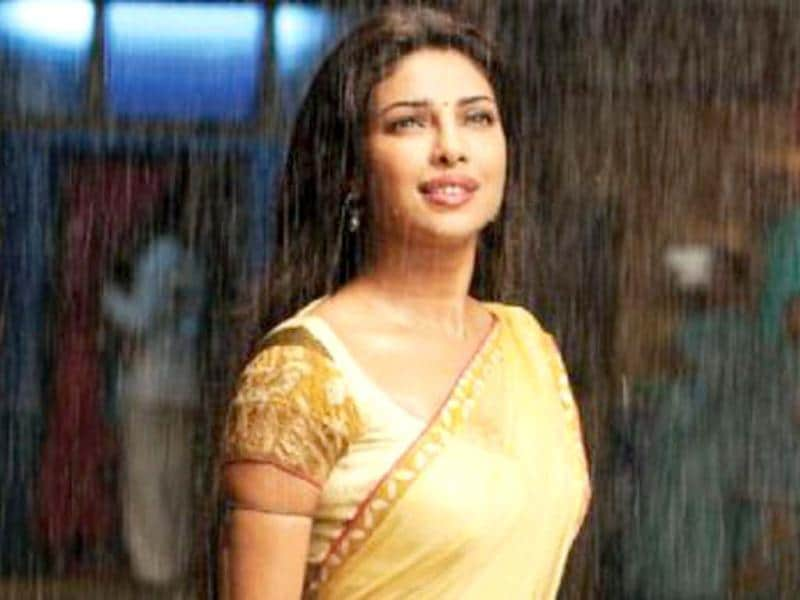 Agneepath was all about Hrithik Roshan and Sanjay Dutt, but Priyanka did make herself count as Kaali Gawde. Similarly, Barfi was Ranbir's film but if not outshine him, she did give him a run for his money with her fantastic portrayal of an autistic girl.
