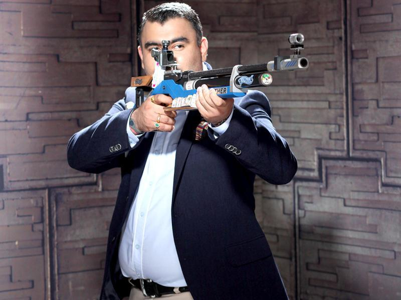 Uses a Walther, just like Sean Connery. (Photo/Anil Chawla)