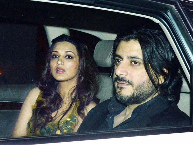 Sonali Bendre and Goldie Behl were also seen Ritu Nanda's new year party in Mumbai.