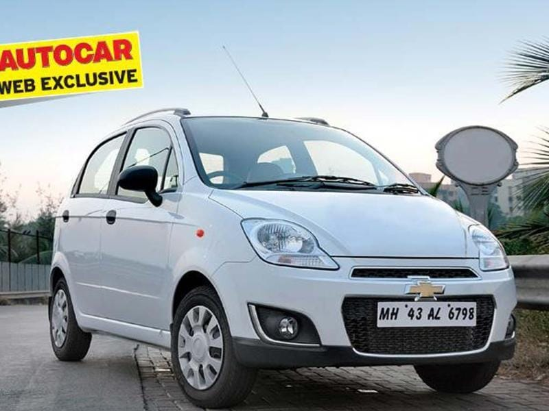 Chevrolet Spark facelift review, test drive