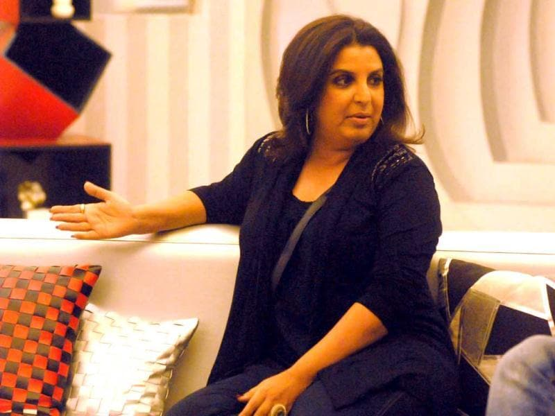 Farah Khan at Bigg Boss 6 house on Thursday.