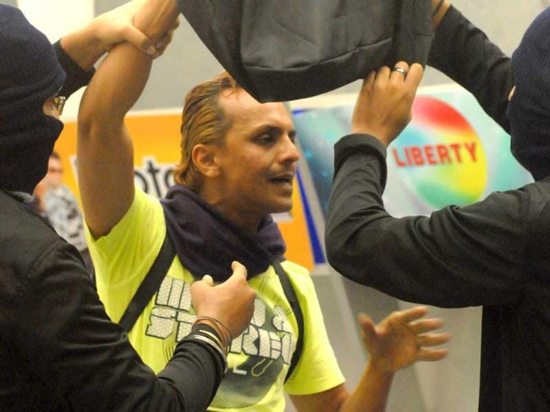 Imam Siddique was 'kidnapped' by Bigg Boss on Wednesday and sent to a secret room in the house, moments after he had a fight with Rajev Paul.