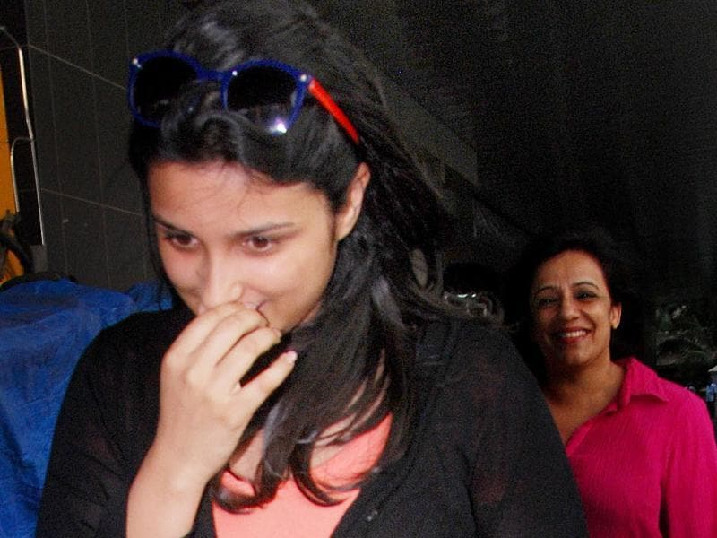 Something funny, Parineeti?