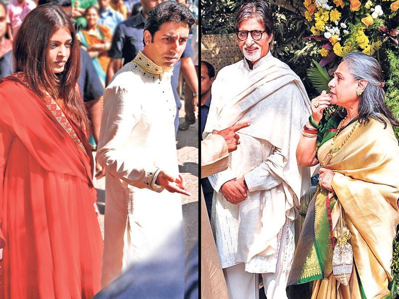 From the Bachchan khaandaan to stars like Viveik Oberoi and Ranveer Singh, much of B-Town was present at the Saathiya and Bunty Aur Babli director Shaad Ali's wedding. Take a look.