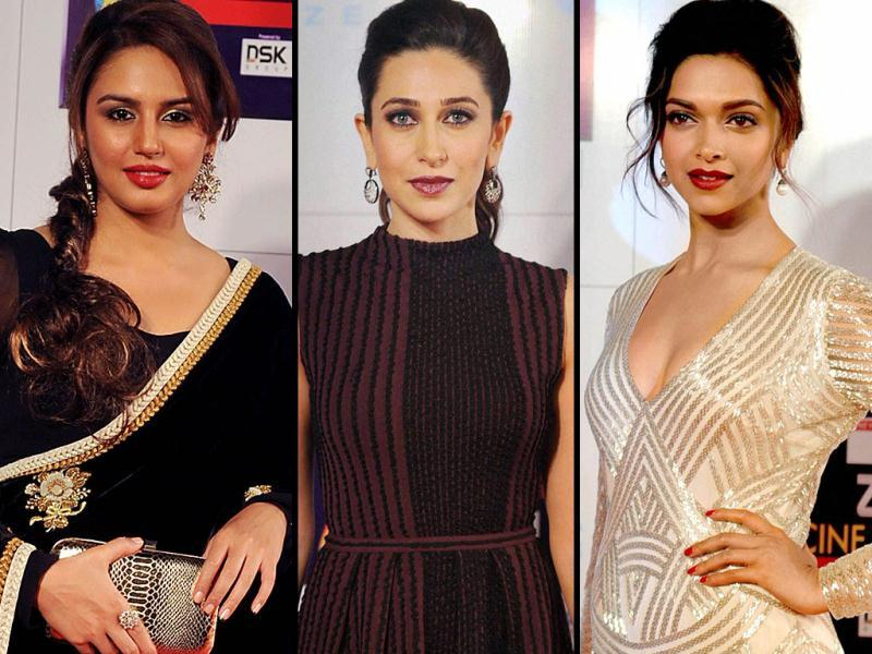Zee Cine Awards 2013 were held at Mumbai on Sunday night. From Karrishma to Huma Quereshi to Deepika Padukone, everyone was present at the the event.
