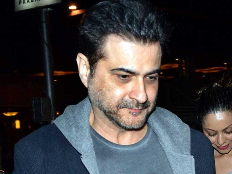 Sanjay Kapoor arrives for Hrithik Roshan's 39th birthday.