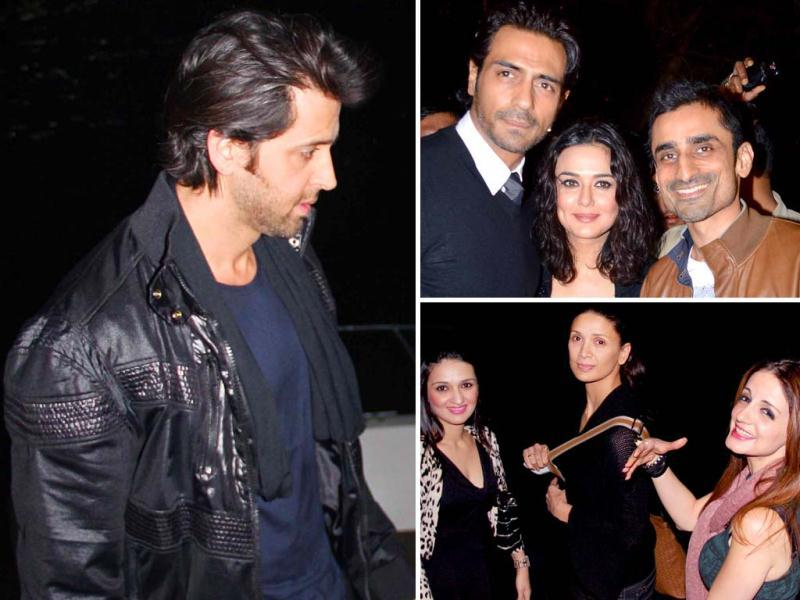 Because the Bollywood actor mingles with the who's who in the celeb world, we'd like to take you back in the not-so-distant past. We take a look at Hrithik Roshan birthday bash in 2013. The Krrish actor's ex-wife Suzanne had thrown him a fancy party on a yacht that saw the likes of Preity Zinta, Arjun Rampal and even Karan Johar. Here's to refreshing your memory.