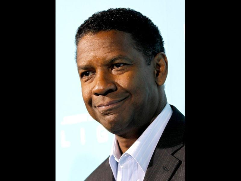 Denzel Washington has been nominated for best actor for his role in Flight for the 85th Academy Awards, announced in Beverly Hills. The Oscars will be presented in Hollywood, California. Reuters Photo
