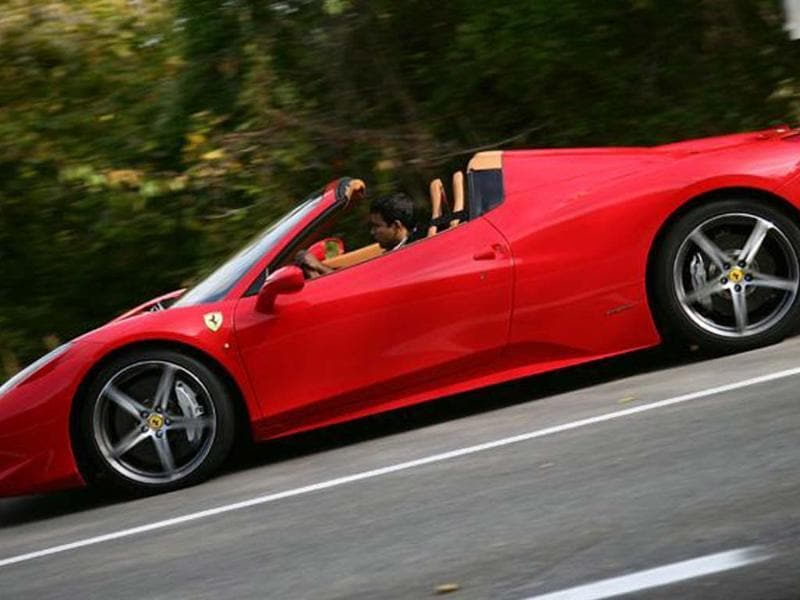 Ferrari 458 spider review, test drive