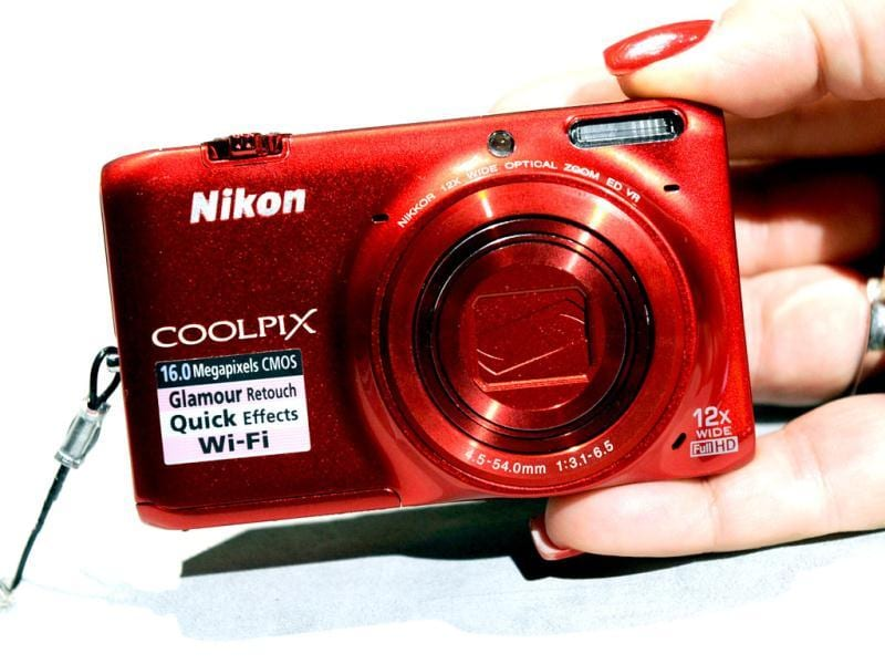The Nikon Coolpix 6500 with built in WiFi is on display at the 2013 International CES at the Las Vegas Convention Center in Las Vegas, Nevada. AFP Photo