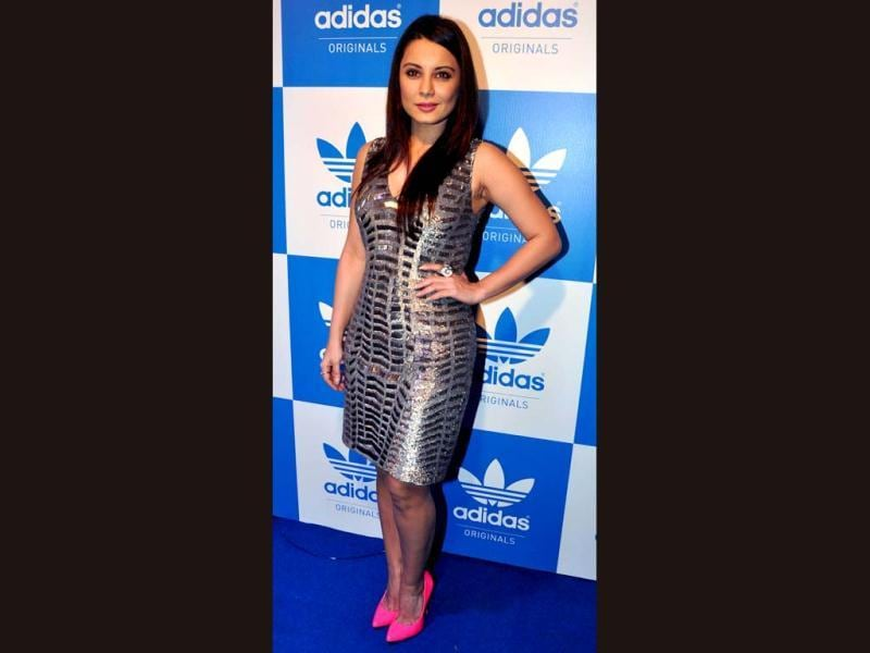 Bollywood actress Minissha Lamba poses during a party hosted by US rap musician Snoop Dogg in Mumbai on January 10, 2013. (AFP PHOTO)
