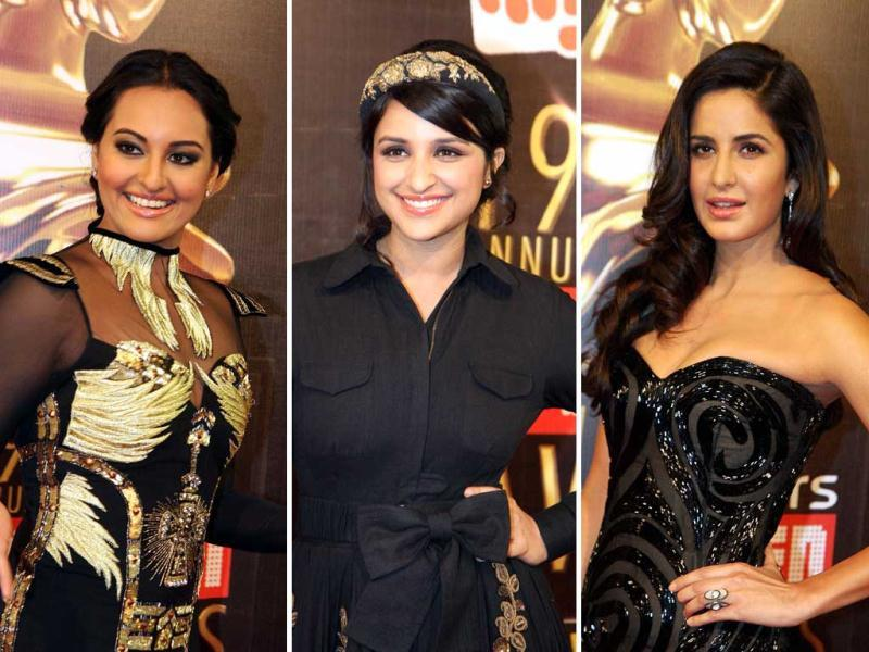 Bollywood beauties were clad in black attires at the recently held 19th Screen Awards. Check out who wore what!