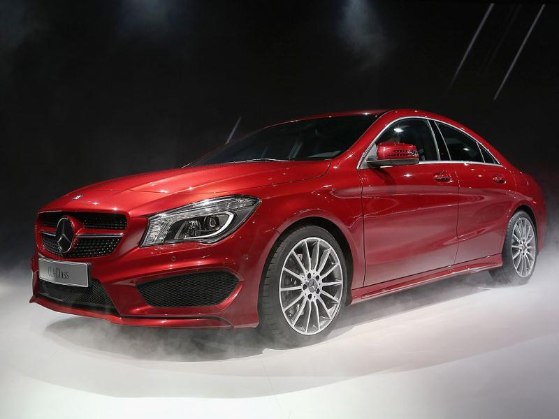 Mercedes-Benz introduces the 2014 CLA at the North American International Auto Show in Detroit, Michigan. The auto show will be open to the public January 19-27.  Scott Olson/Getty Images/AFP