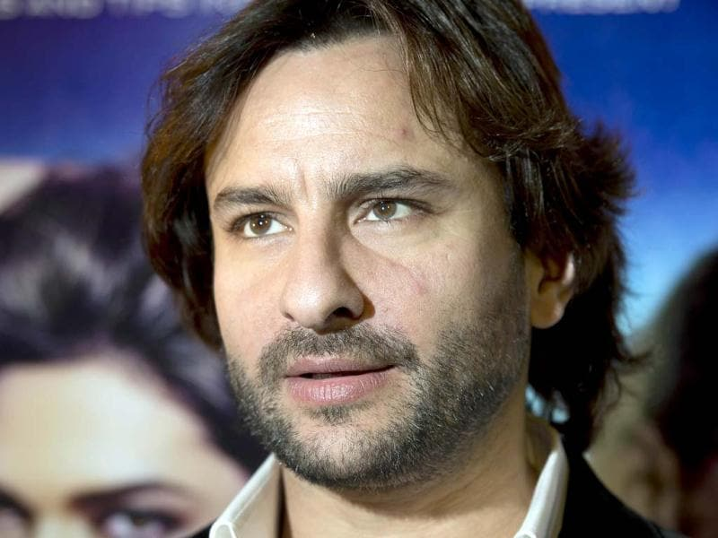 Bollywood actor Saif Ali Khan poses for pictures during a photo call for his new action thriller film Race 2 in London. (AFP PHOTO)
