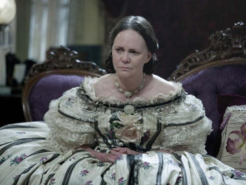 "Sally Field stars as First Lady, Mary Todd Lincoln in this scene from director Steven Spielberg's drama ""Lincoln"" from DreamWorks Pictures and Twentieth Century Fox."