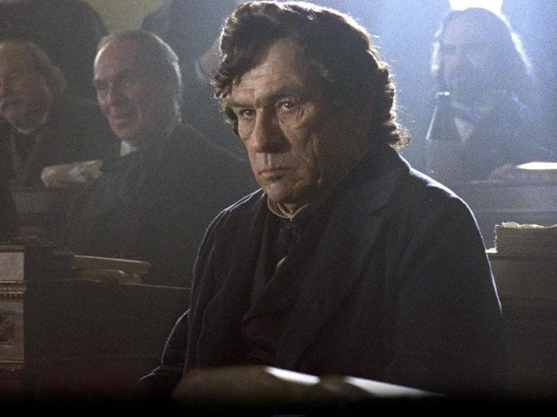 Tommy Lee Jones stars as Republican Representative Thaddeus Stevens in this scene from director Steven Spielberg's drama Lincoln from DreamWorks Pictures and Twentieth Century Fox.