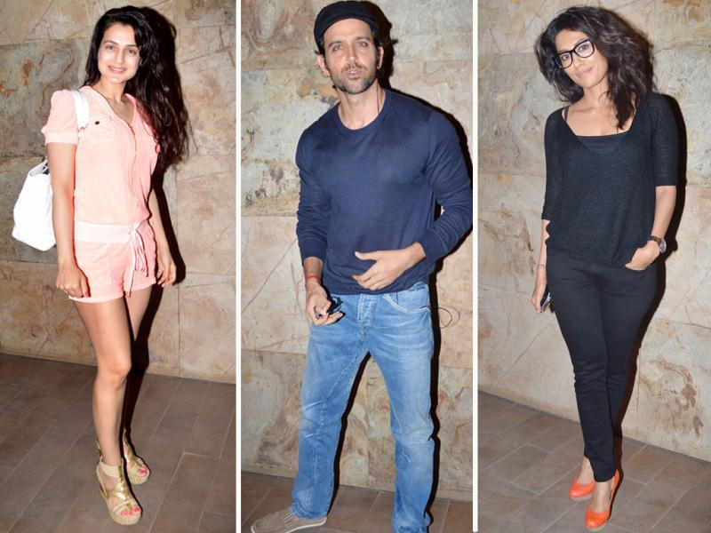 The special screening of Inkaar held in Mumbai saw the stars come out in full force. Apart from the film's actors like Arjun Rampal and Chitrangda Singh, Bollywood A-listers Hrithik Roshan, Farhan Akhtar and Preity Zinta were also seen donning casual looks.