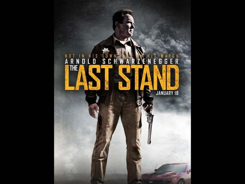 The Last Stand is the story of a leader of a drug cartel, who busts out of a courthouse and speeds to the Mexican border, where the only thing in his path is a sheriff (Arnold Schwarzenegger) and his inexperienced staff.