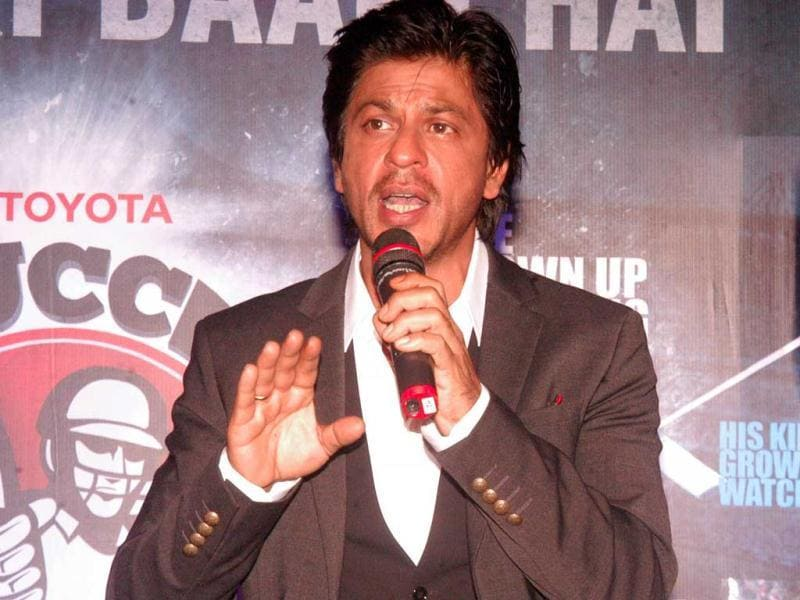 Shah Rukh says sports should be considered a good job opportunity and that parents must be educated about how games can be a viable career option for their children.