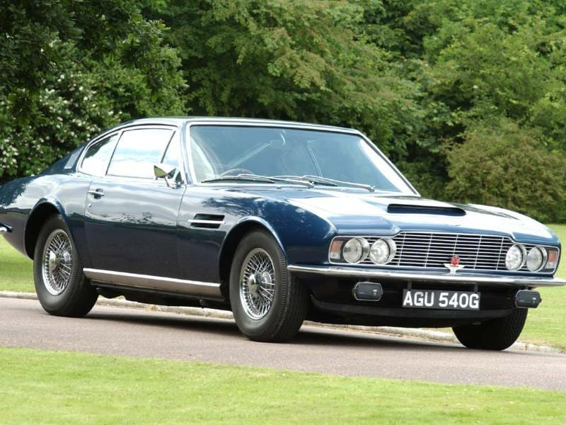 The DBS was a departure in terms of styling from the DB4, DB5 and DB6 that had gone before it. Its development wasn't helped by the fact that Touring of Milan, the design house charged with its creation, went bankrupt. It struggled to attract admirers until it was fitted with a V8 engine in 1970, though it did appear in two James Bond films. Photo:AFP
